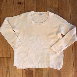 "Madewell sweater off white medium ""wallace"""